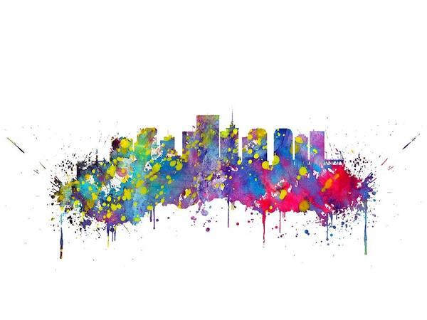 Wall Art - Digital Art - Richmond by Erzebet S