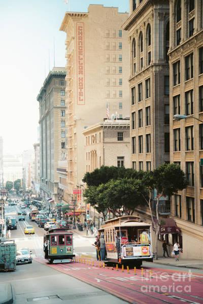 Wall Art - Photograph - San Francisco Cable Cars by JR Photography