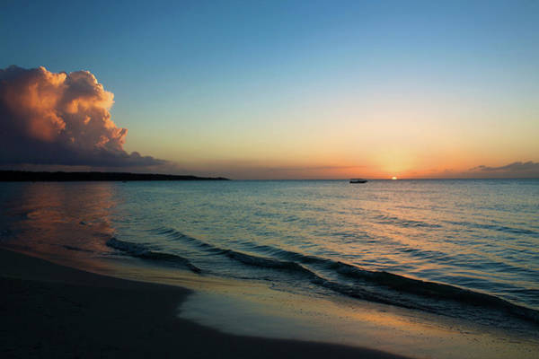 Jamaica Photograph - Seven Mile Beach, Negril, Jamaica by Cultura Exclusive/karen Fox