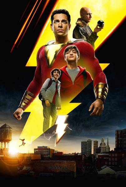 Wall Art - Digital Art - Shazam by Geek N Rock