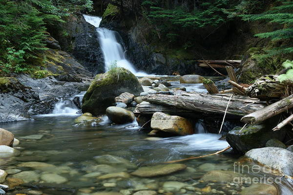 Wall Art - Photograph - Small Waterfall  by Jeff Swan
