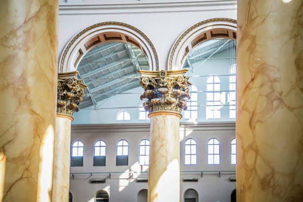 Photograph - Smithsonian National Building Museum In Washington, Dc by Alex Grichenko