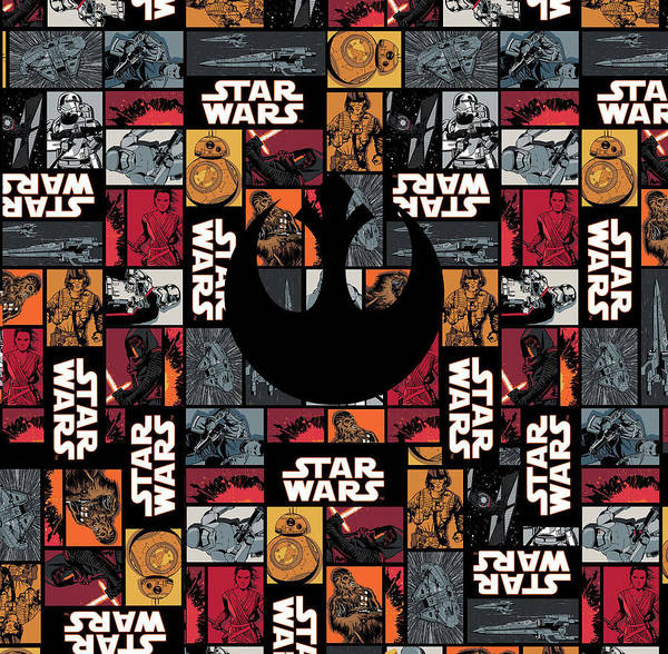 Wall Art - Digital Art - Star Wars  by Geek N Rock