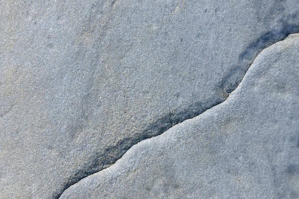 Cracked Photograph - Stone With Crack, Nanortalik, Kujalleq by Raimund Linke