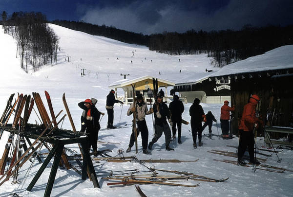 Skiing Photograph - Stowe Vermont by Michael Ochs Archives