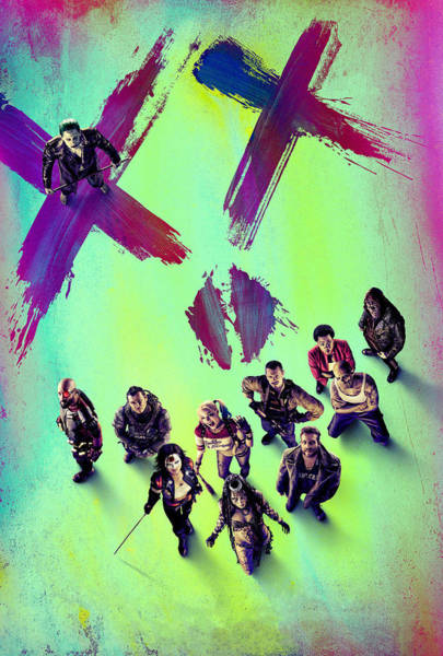 Wall Art - Digital Art - Suicide Squad by Geek N Rock