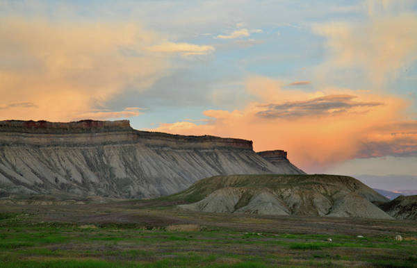 Photograph - Sunset Clouds Over Book Cliffs by Ray Mathis