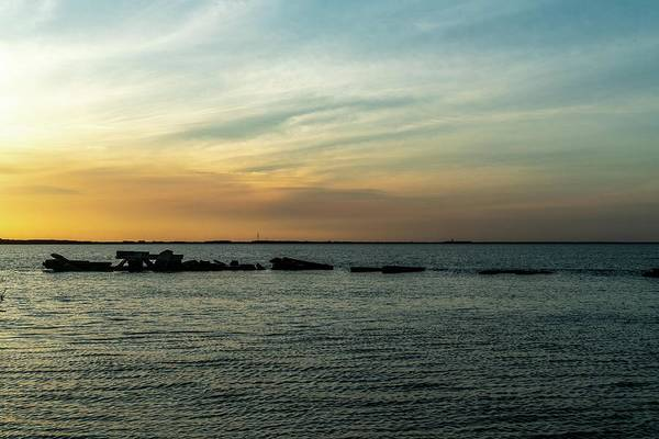 Lake Wall Art - Photograph - Sunset Over The Bay by Ric Schafer