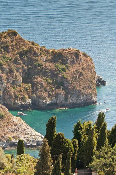 Sicily Photograph - Taormina, Messina, Sicily by Latitudestock - Mel  Longhurst