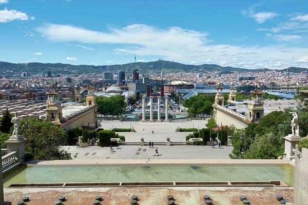 Photograph - Barcelona, Spain by Fine Art Photography Prints By Eduardo Accorinti