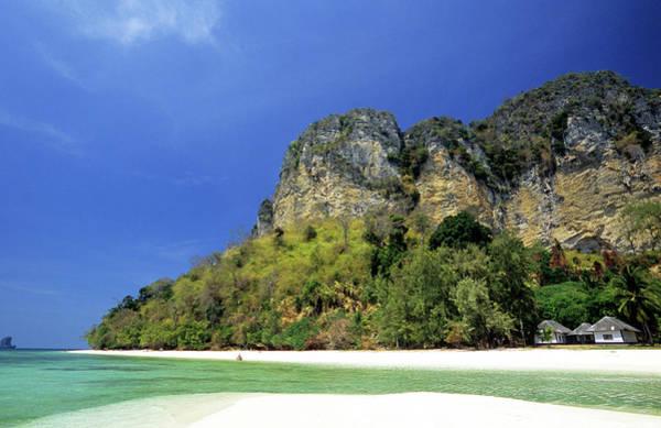 Thailand Photograph - Thailand, Krabi Province, Offshore by Tropicalpixsingapore