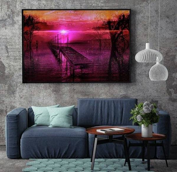 Digital Art - The Bridge Line by Swedish Attitude Design