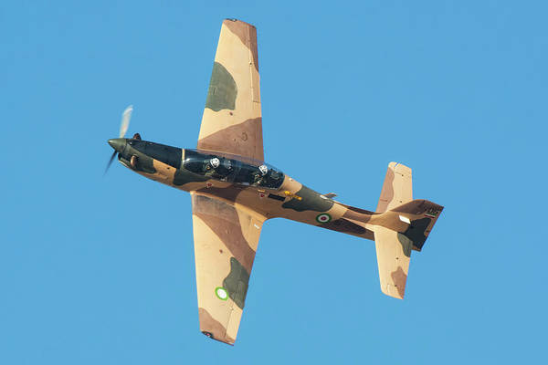 Photograph - The Embraer Emb 312 Tucano Used by Daniele Faccioli