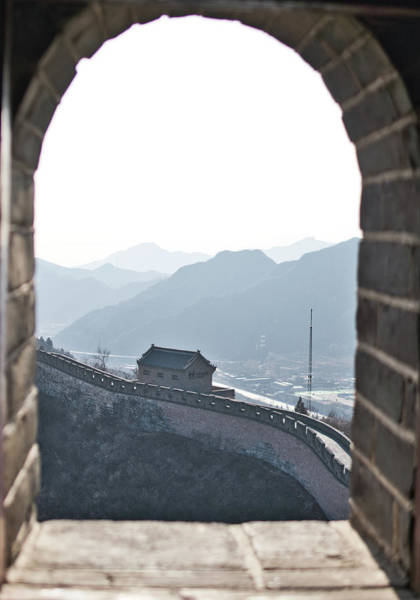 Photograph - The Great Wall Of China by Nick Mares