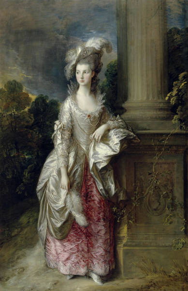 Thomas Gainsborough Wall Art - Painting - The Honourable Mrs Graham by Thomas Gainsborough