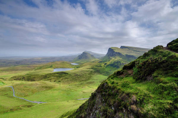 Wall Art - Mixed Media - The Quiraing by Smart Aviation