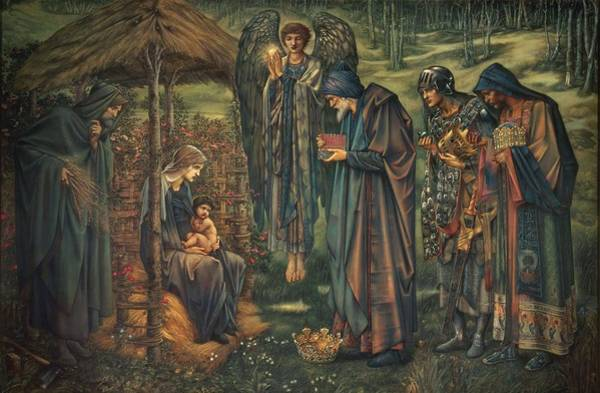 Wall Art - Painting - The Star Of Bethlehem by Edward Burne-Jones