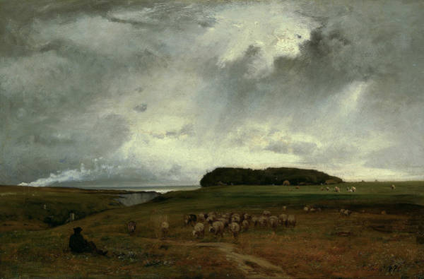 Wall Art - Painting - The Storm by George Inness