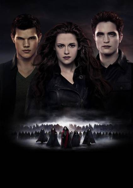 Wall Art - Digital Art - The Twilight Saga Breaking Dawn by Geek N Rock
