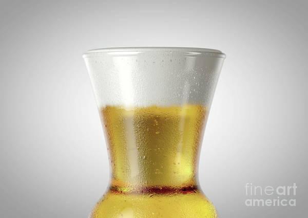 Wall Art - Digital Art - Thistle Beer Pint by Allan Swart