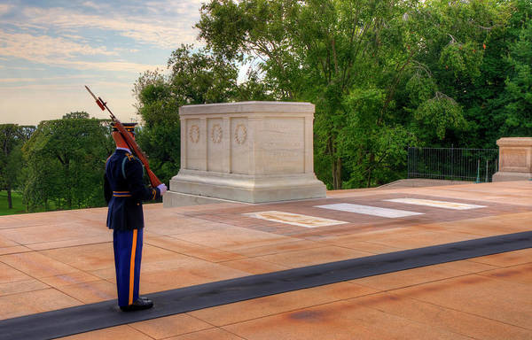 Department Of Defense Photograph - Tomb Of The Unknown Soldier by Craig Fildes