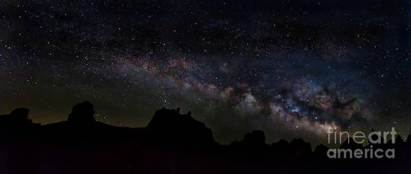 Photograph - Trona Pinnacles Milky Way by Mark Jackson