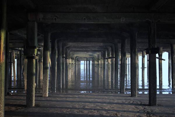 Wall Art - Photograph - Under The Pier by Martin Newman