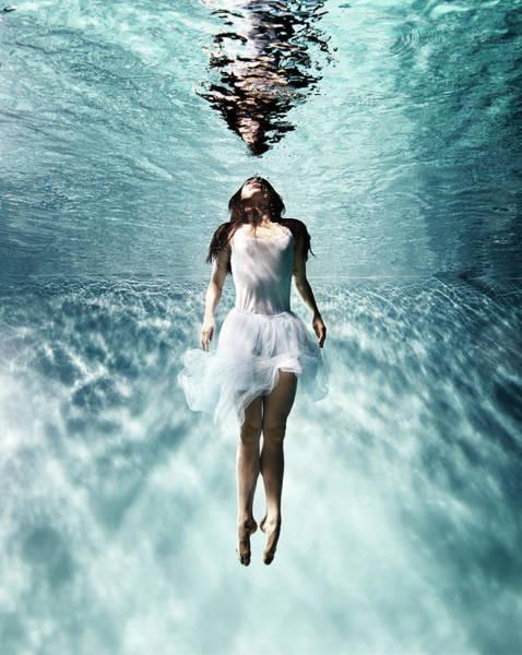 Spirituality Photograph - Underwater Ballet by Henrik Sorensen