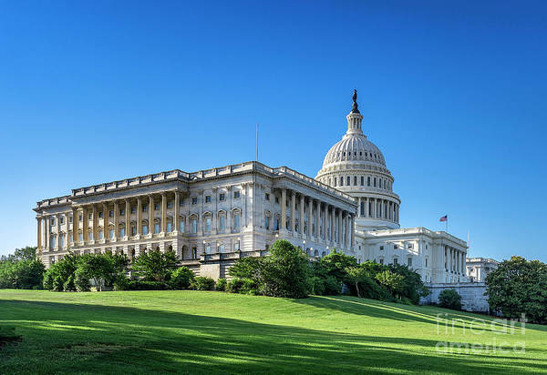 Wall Art - Photograph - United States Capitol Building by John Greim