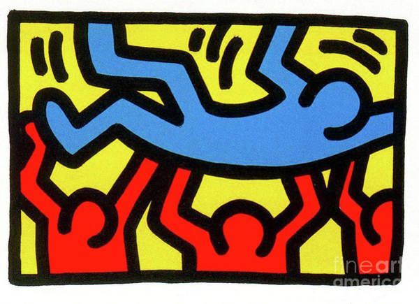 Wall Art - Painting - Untitled by Haring