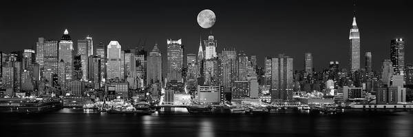 Wall Art - Photograph - Usa, New York, New York City, Panoramic by Panoramic Images
