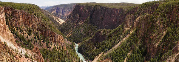 Yellowstone Canyon Photograph - Usa, Wyoming, Yellowstone National by Philip Nealey