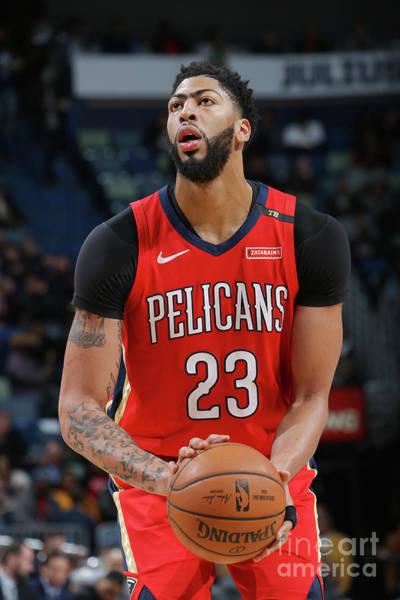 Wall Art - Photograph - Utah Jazz V New Orleans Pelicans by Layne Murdoch Jr.