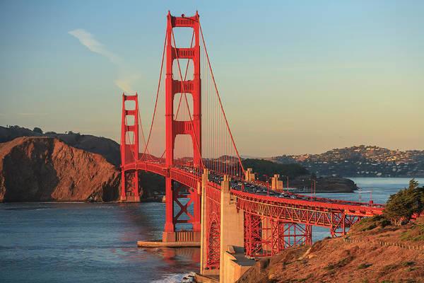 Wall Art - Photograph - View Of Golden Gate Bridge, San by Stuart Westmorland