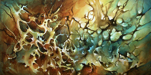 Wall Art - Painting -  Visions by Michael Lang