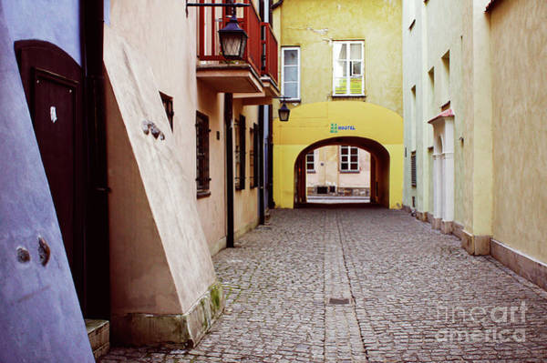 Wall Art - Photograph - Warsaw Old Town Buildings by Tom Gowanlock