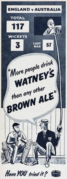 Wall Art - Photograph - Watneys Brown Ale by Picture Post