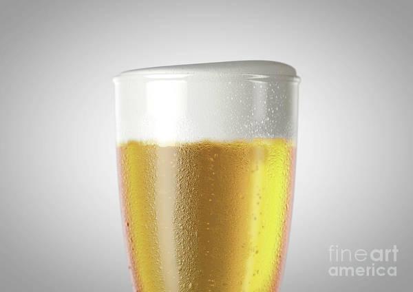 Wall Art - Digital Art - Weizen Beer Pint by Allan Swart