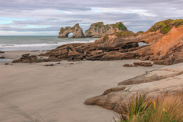 Wall Art - Photograph - Wharariki Beach - New Zealand by Joana Kruse