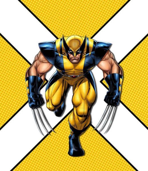Wall Art - Digital Art - Wolverine  by Geek N Rock