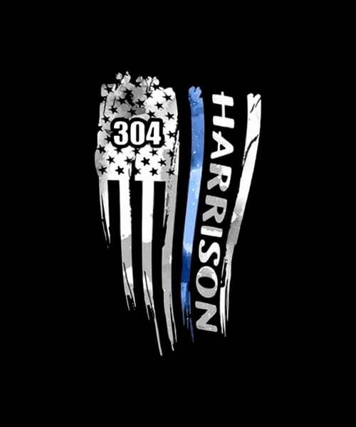 War Bonds Digital Art - 304 Harrison America Patriotic by Cooper Tyson