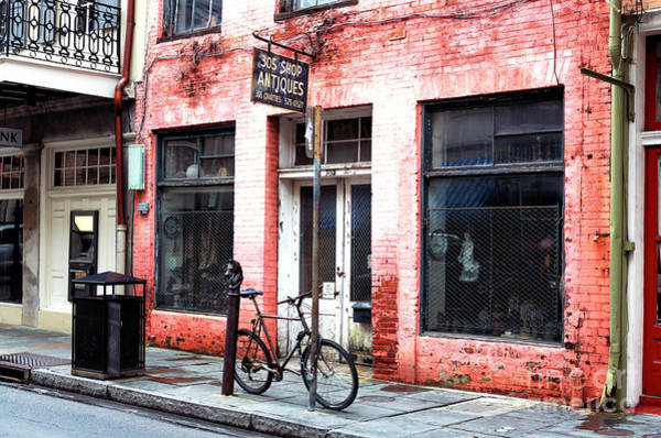 Photograph - 305 Antiques Shop New Orleans by John Rizzuto