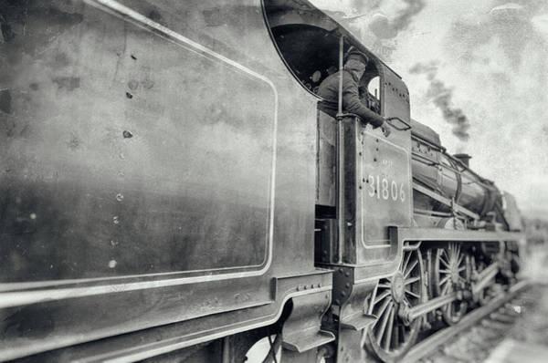 Photograph - 31806 Mogul Steam Locomotive by Steam Train