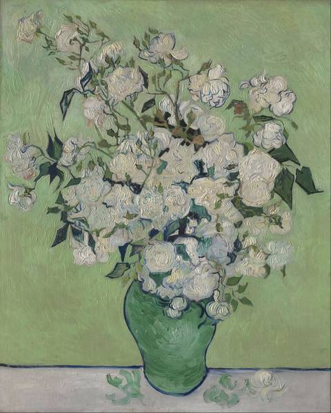 Wall Art - Painting - Roses by Vincent van Gogh