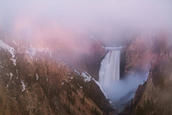 Yellowstone Canyon Photograph - Usa, Wyoming, Yellowstone National Park by Jaynes Gallery
