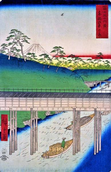 Wall Art - Painting - 36 Views Of Mt.fuji - Ochanomizu In The Eastern Capital - Digital Remastered Edition by Utagawa Hiroshige