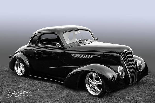 Photograph - 37 Chevy Coupe by Bill Dutting