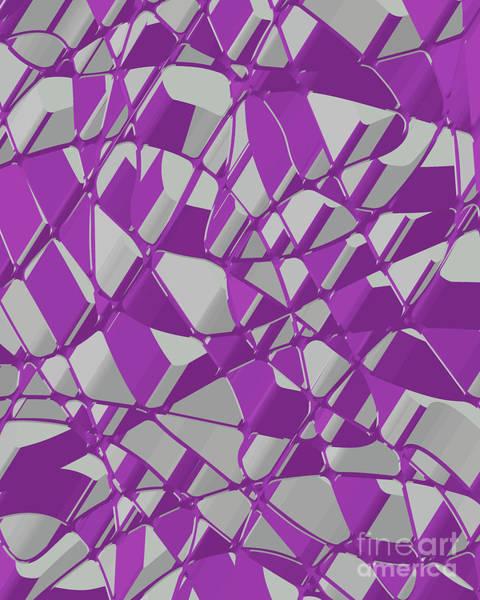 Wall Art - Digital Art - 3d Abstract Futuristic Background by Amir Faysal