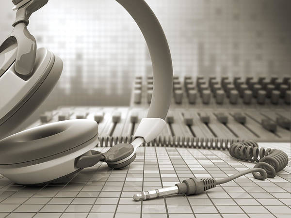 Mixing Photograph - 3d Audio Equipment by Petrovich9