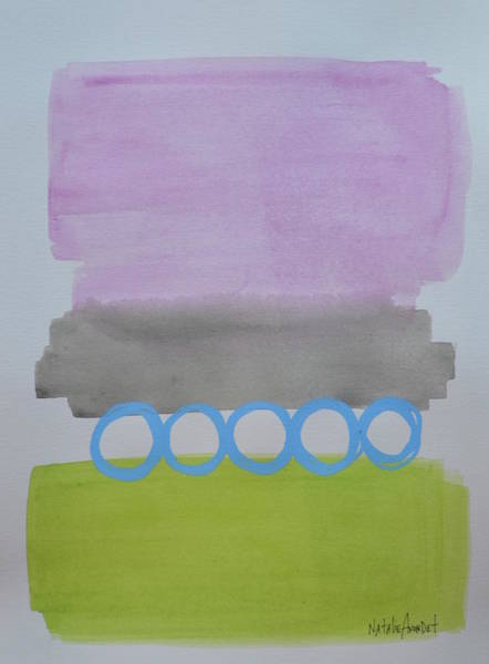 Avondet Wall Art - Painting - 3x3 Two by Natalie Avondet